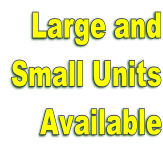 Mini Storage Units available to rent